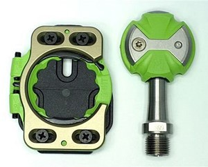 bee62682f44 Mountain bike pedals virtually all use the SPD two-bolt cleat pattern (even  the innovative Crank Brothers Eggbeater pedals use the two-bolt pattern