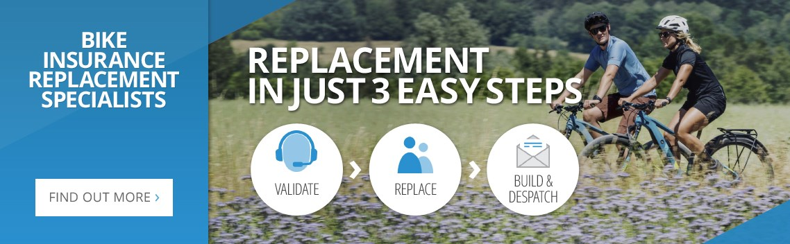 Bike Insurance Replacement Specialists - Replacement in just 3 easy steps