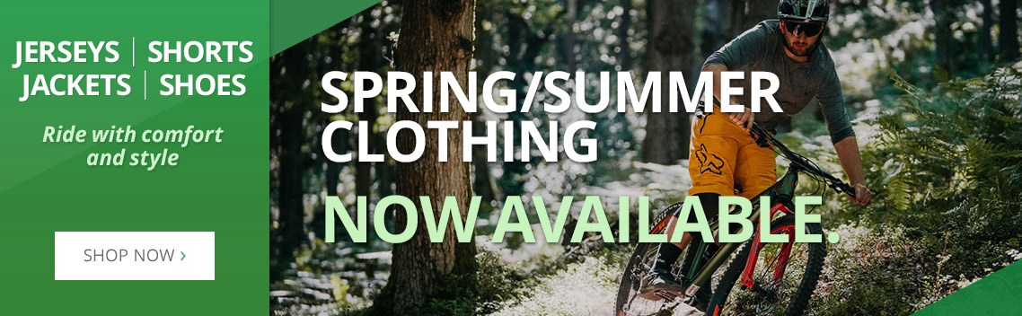 Spring/Summer Clothing - Now Available