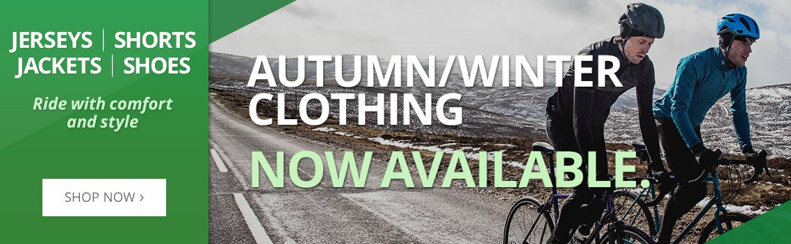 Autumn/Winter Clothing - Now available