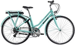 Image of Bianchi E-Spillo Classic Womens 2021 Electric Hybrid Bike