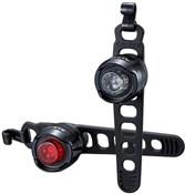 Image of Cateye Orb Set Front & Rear Battery Bike Light