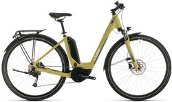Image of Cube Touring Hybrid One 500 Easy Entry Womens 2020 Electric Hybrid Bike