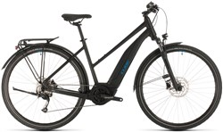 Image of Cube Touring Hybrid One 500 Trapeze Womens 2020 Electric Hybrid Bike