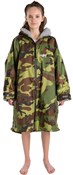 Image of Dryrobe Advance Childrens Long Sleeve Camo Dryrobe