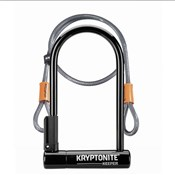 Image of Kryptonite Keeper 12 Standard with  Flex Sold Secure Silver