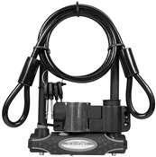 Image of Master Lock Gold Sold Secure D-Lock Plus Cable
