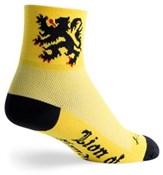 Image of SockGuy Lion of Flanders Socks